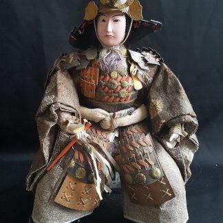 Musha Ningyo warrior Doll - Meiji periode