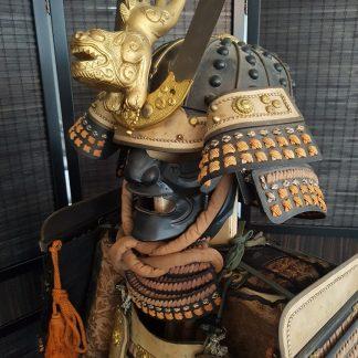 Japans Samurai Armor lion